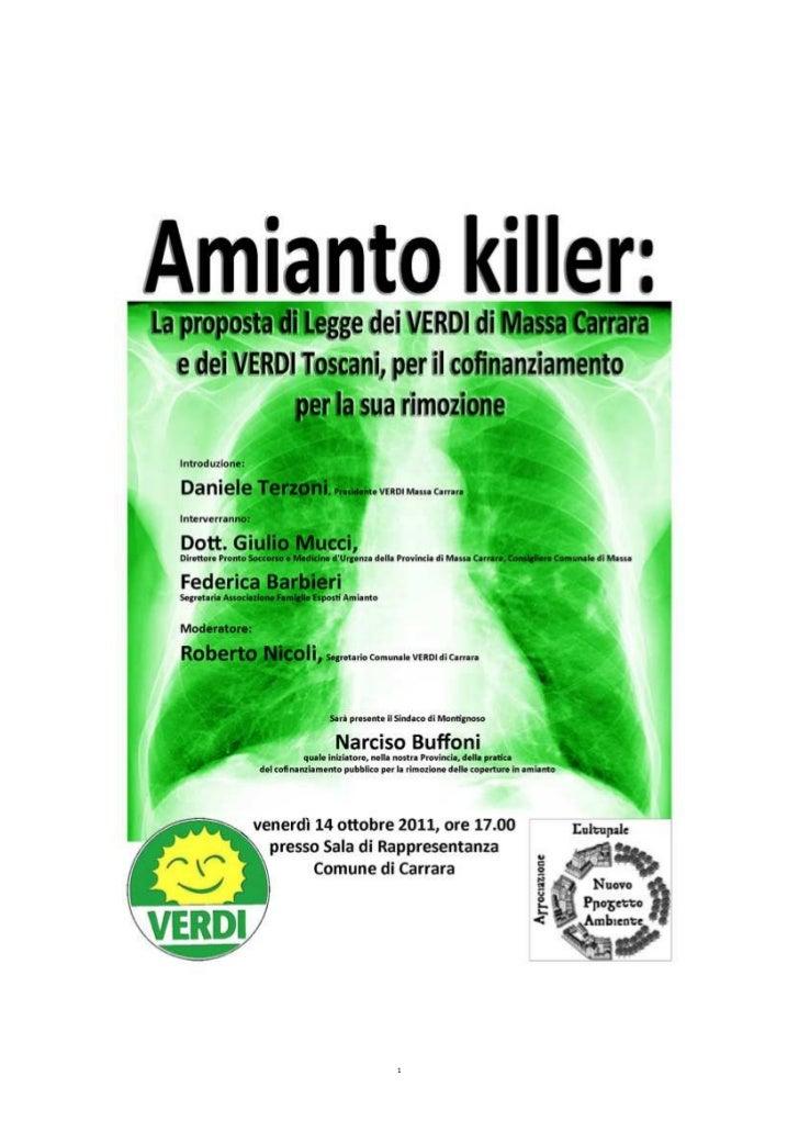 plico legge amianto