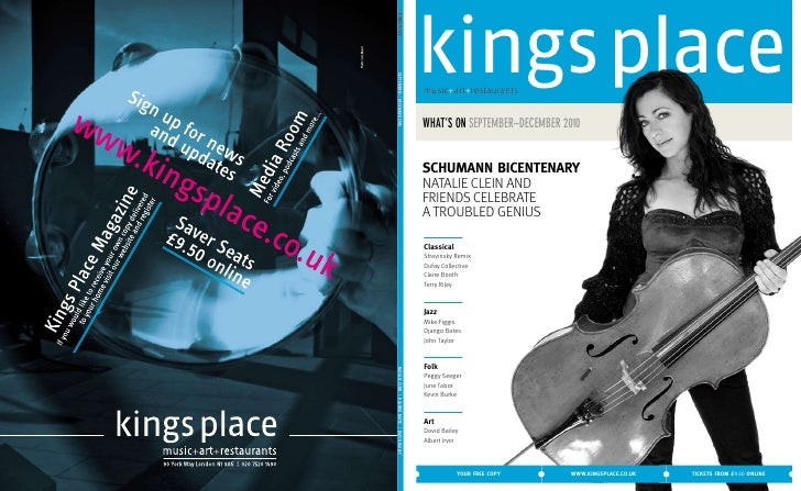Kings Place - What\'s On (Autumn Season 2010)