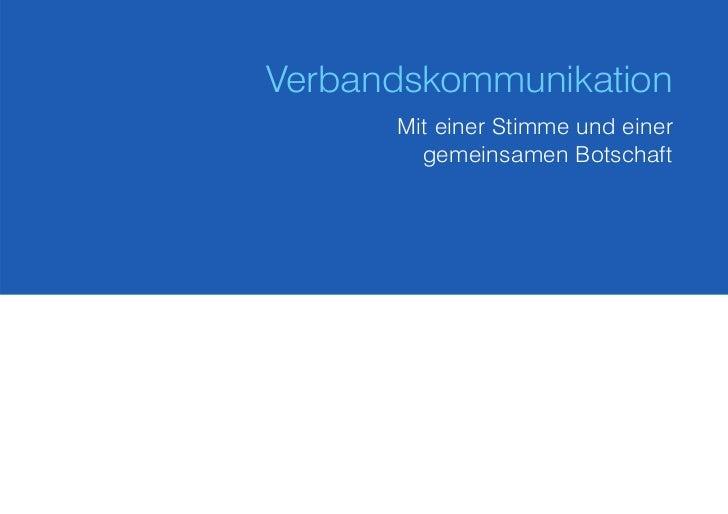 White Paper Verbandskommunikation