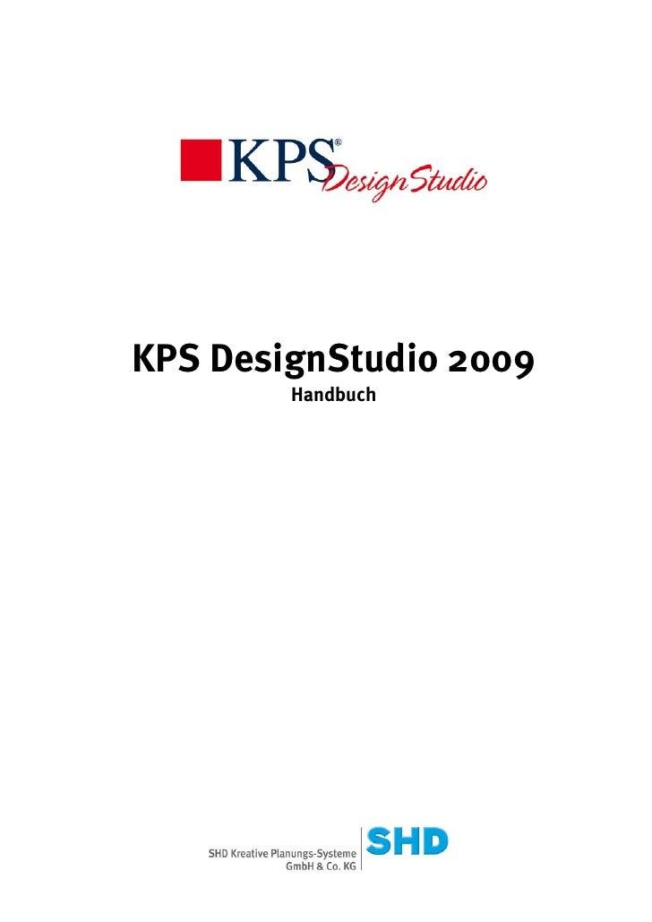 KPS DesignStudio 2009        Handbuch