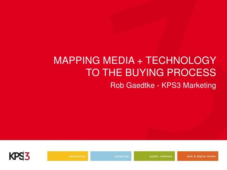Mapping media and technology to the travel buying process