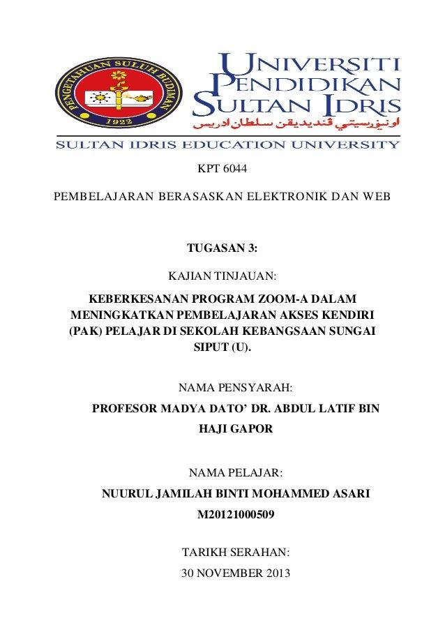 KPT 6044 tugasan 3