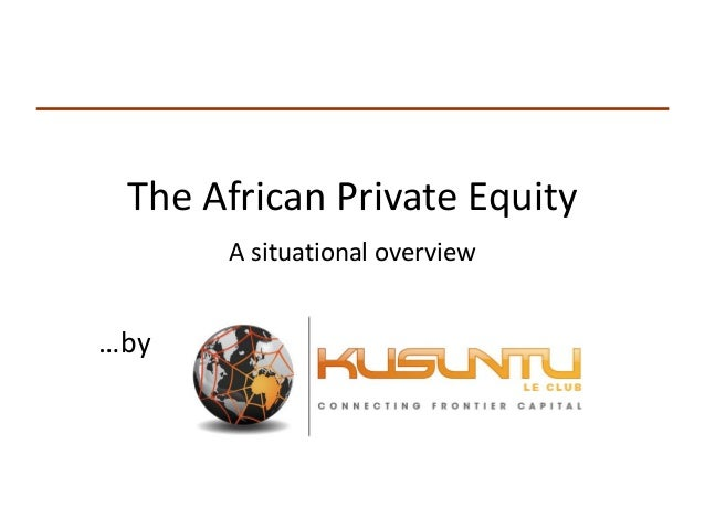 Overview of African Private Equity - (English)