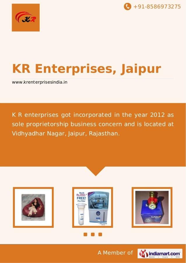 Kr enterprises-jaipur