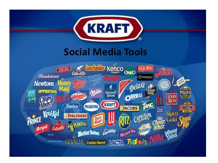 Kraft Foods social media platforms