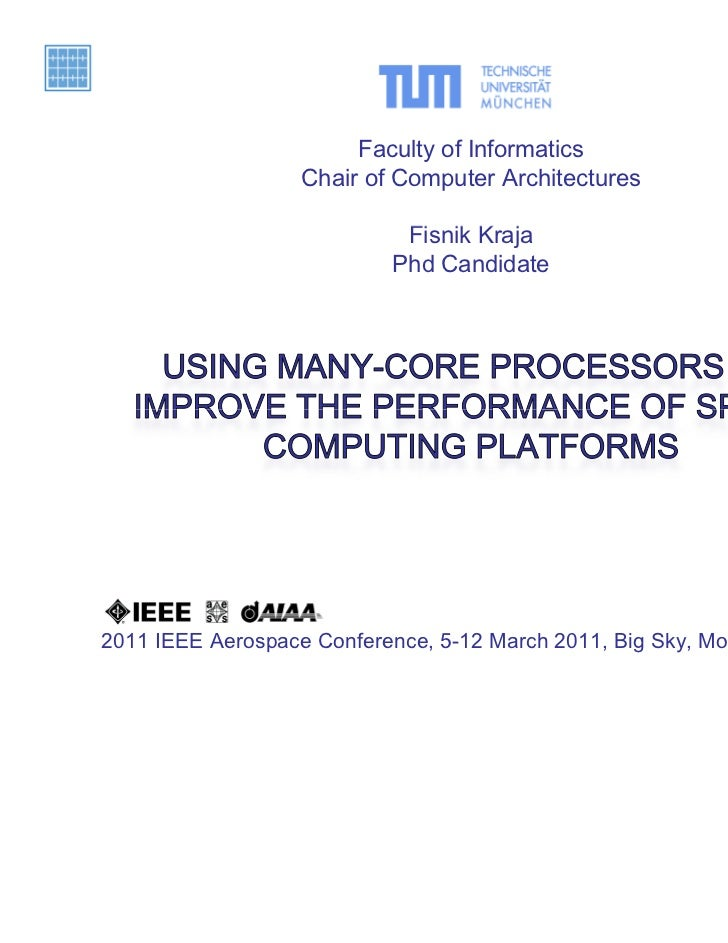 Using Many-Core Processors to Improve the Performance of Space Computing Platforms