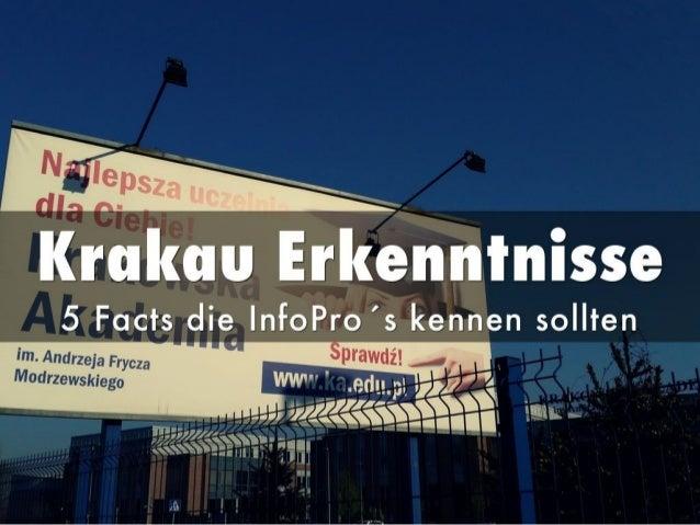 5 Wichtige Erkenntnisse für Information Professionals aus Krakau