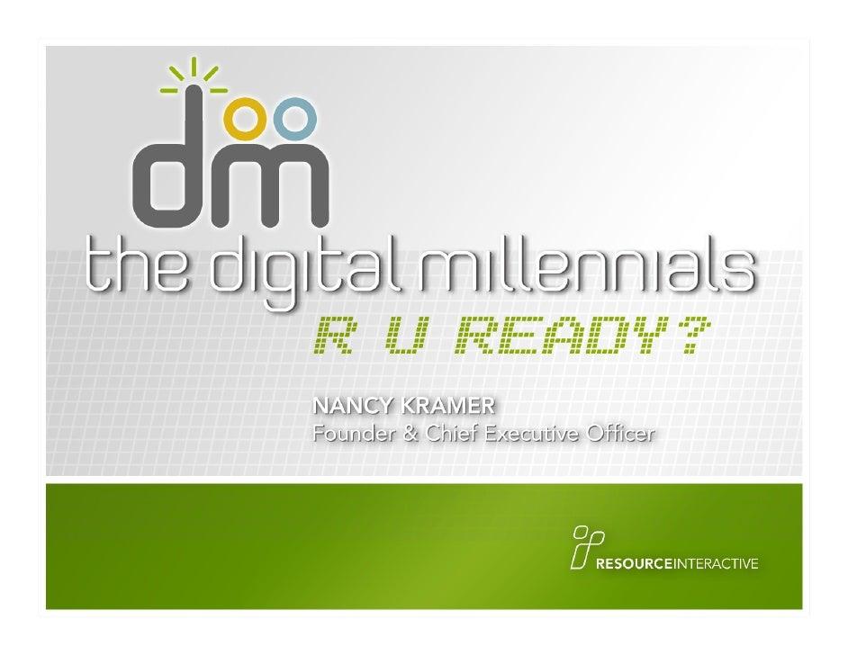 Digital Millenials for OSU Alumni Leaders