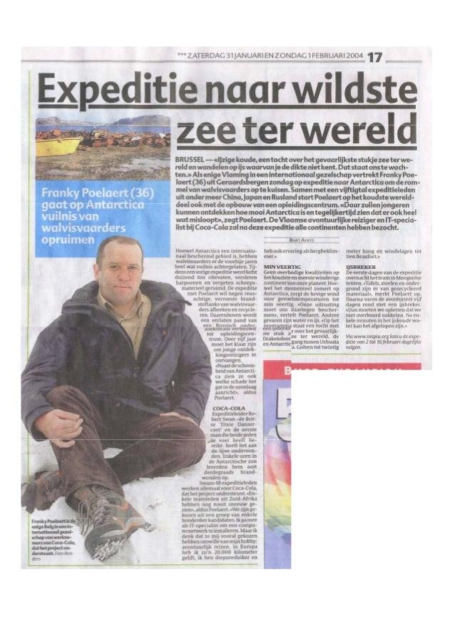 Krantenartikel 31 jan   het laatste nieuws