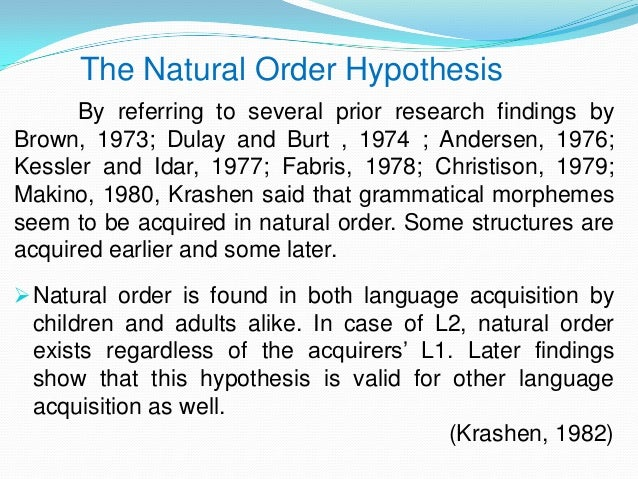 krashens five theories Krashen's five major hypotheses information-processing theory cognitive theory of learning that describes the processing, storage, and.