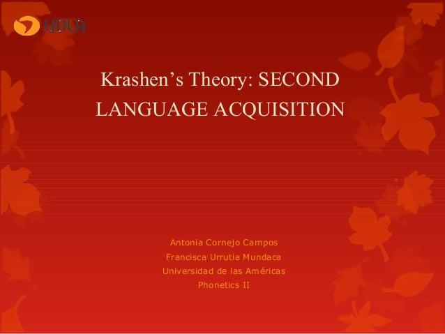 Krashen's theory