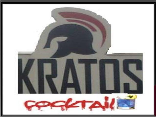 """ """"Kratos Cocktail"""", sirve a sus clientes como un aliado confiable, proporcionán doles, la lealtad de un socio comercial. ..."""