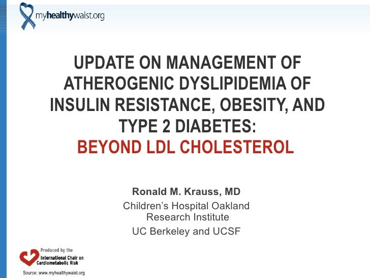UPDATE ON MANAGEMENT OF ATHEROGENIC DYSLIPIDEMIA OF INSULIN RESISTANCE, OBESITY, AND TYPE 2 DIABETES: BEYOND LDL CHOLESTER...
