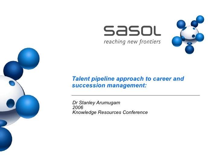 Career Succession Management Aug 06