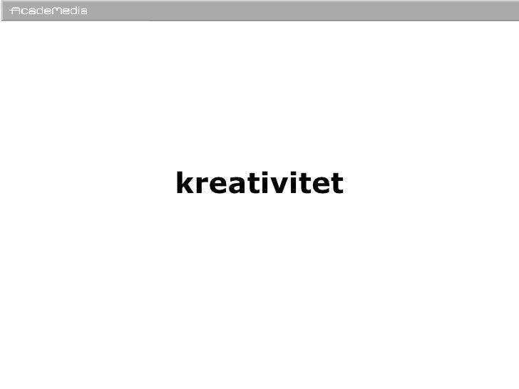 Kreativitet ReklambyråSkolan