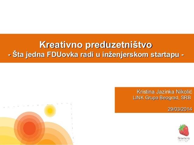 Kreativno preduzetnistvo