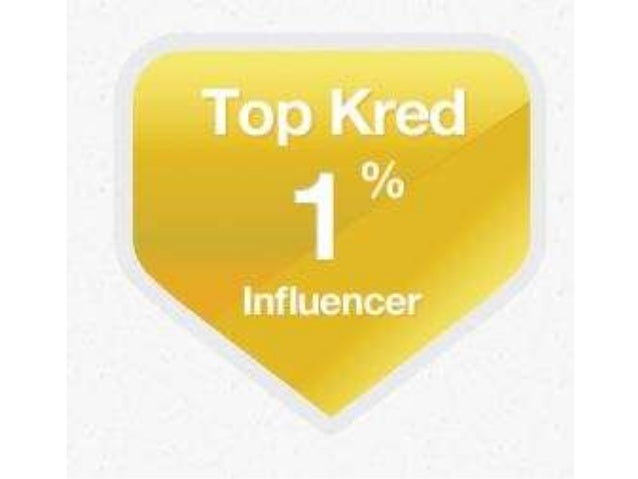 Sally Falkow Named Kred Top Influencer