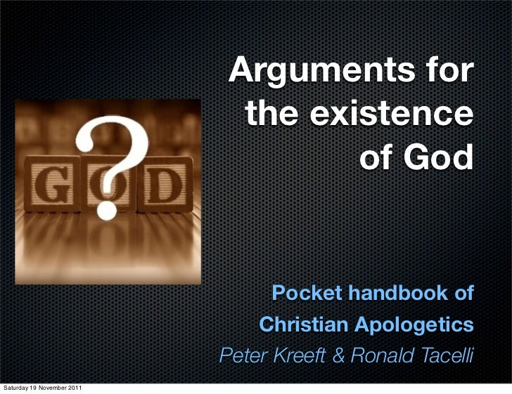 an analysis of the existence of god Kant's objection to the ontological argument any argument for the existence of god based on the proposition that a god that exists in reality is greater than.