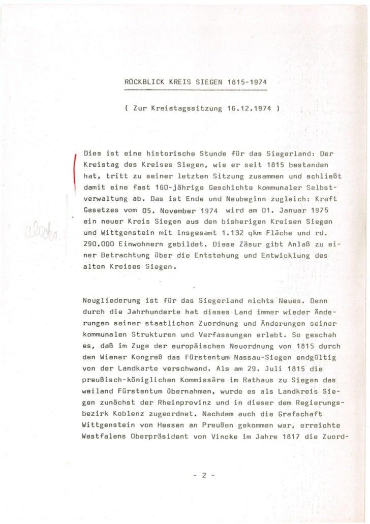 Kreis Siegen 1815-1974