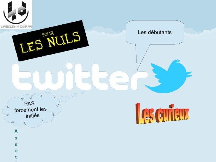 Atelier débuter sur  twitter (2012)