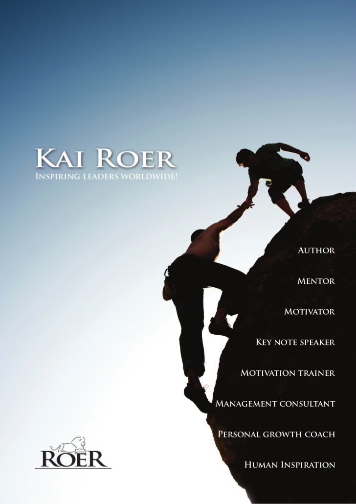 Information about Kai Roer, the international trainer