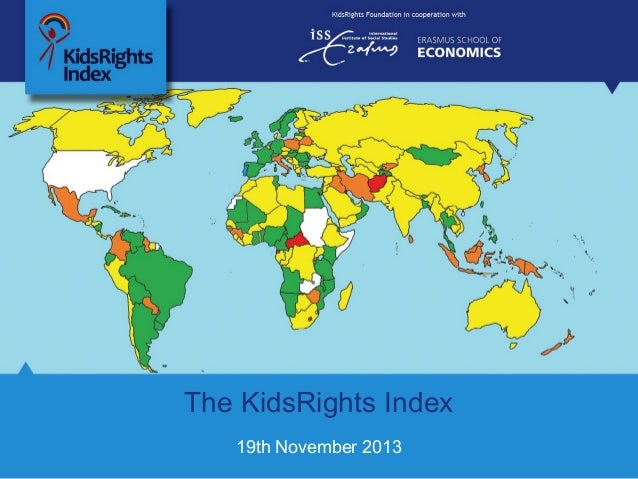 The KidsRights Index 19th November 2013