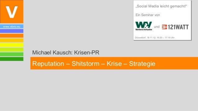 """""""Social Media leicht gemacht!""""                                                   Ein Seminar vonwww.vibrio.eu             ..."""