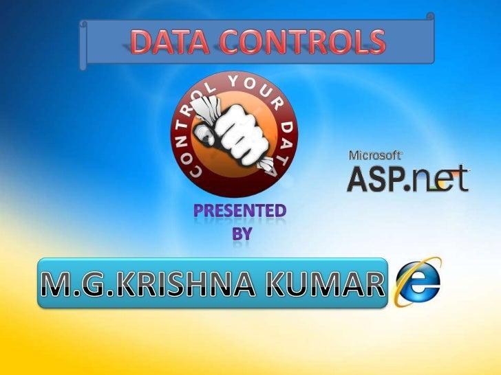 asp.net data controls