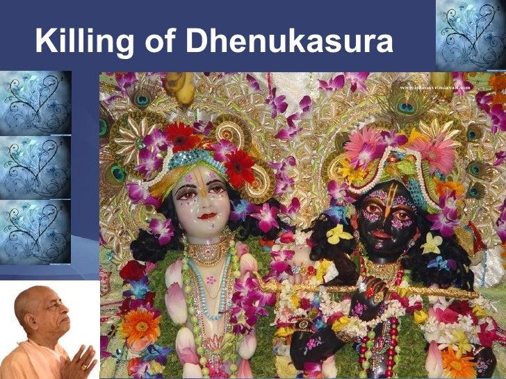 Killing of Dhenukasura