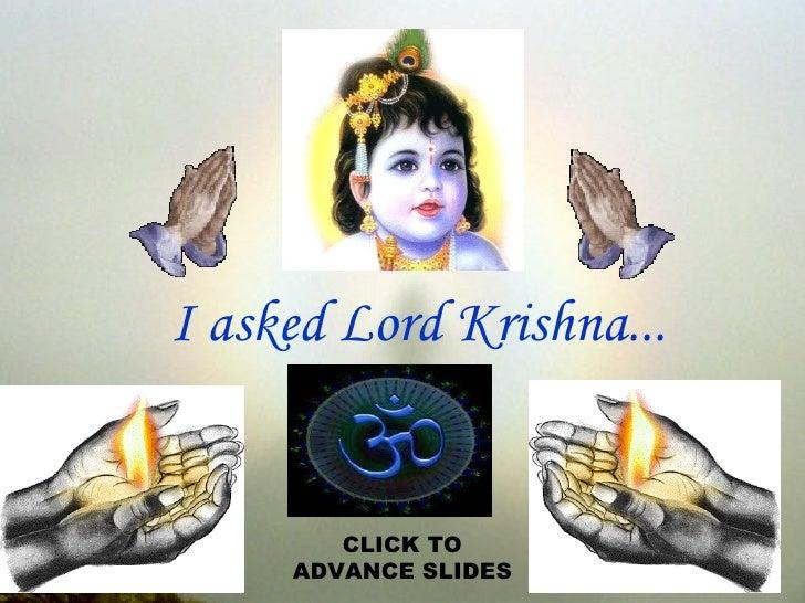 Krishna And Human Belives