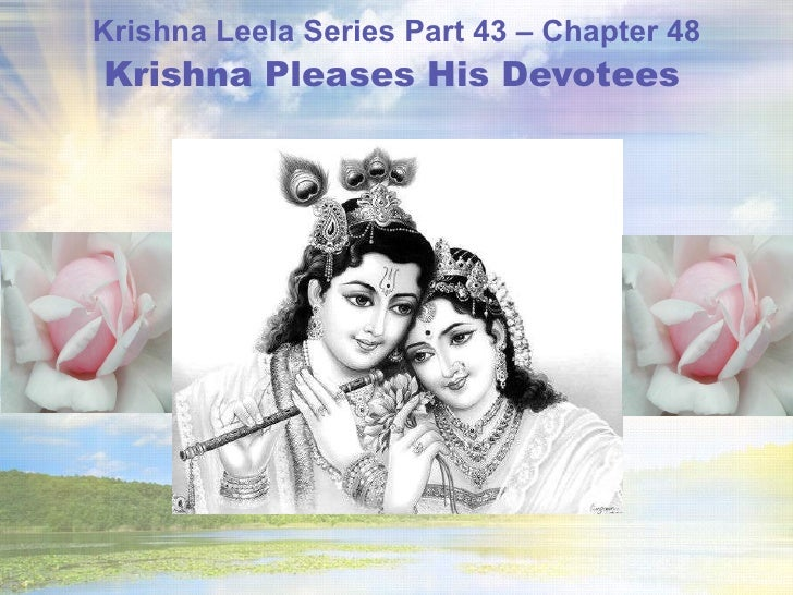 Krishna Leela Series - Part 43 - Krishna Pleases His Devotees