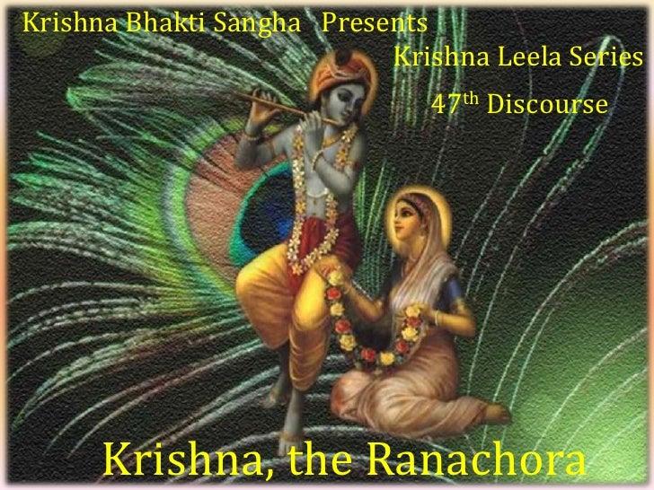 Krishna Leela Series - Part 47 - Krishna the Ranachora