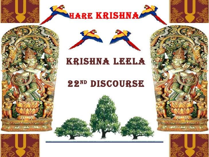 Krishna Leela Series Part 21 (2) - Description Of Autumn