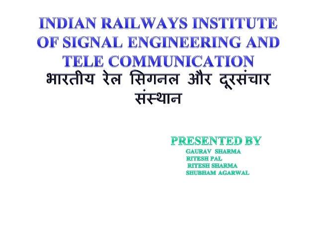 Krishna singh( rail signal