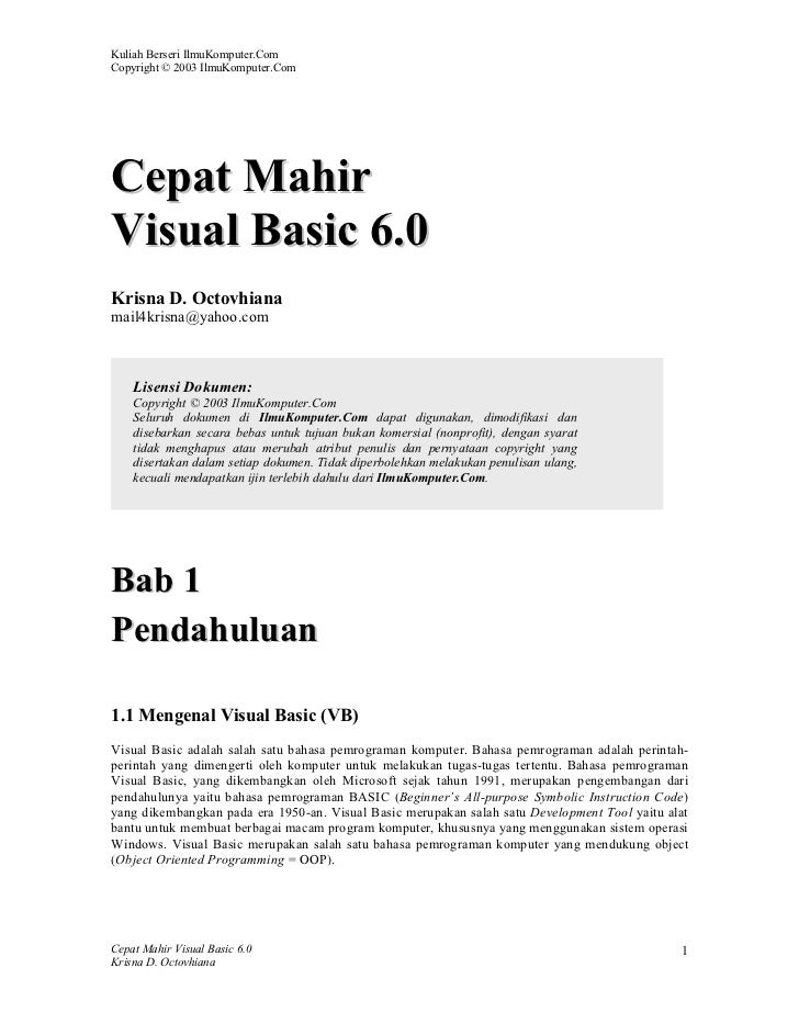 Tips visual basic by www.info-technology.tk 1