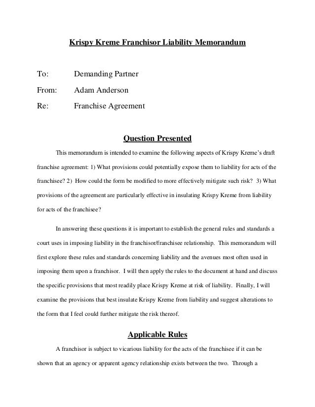 krispy kreme case study executive summary