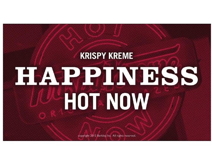 Krispy Kreme Hot Light App Platform