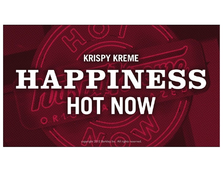 Krispy Kreme Hot Light App Platform