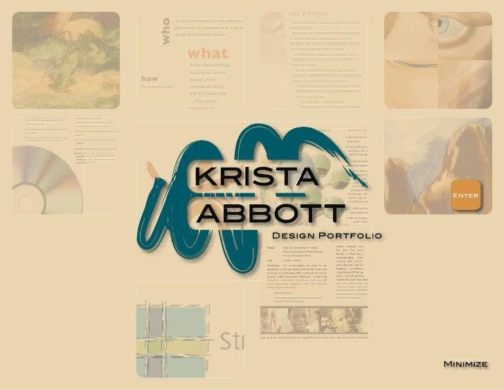 Krista Abbott Portfolio