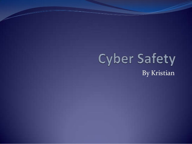 Kristian on cyber safety