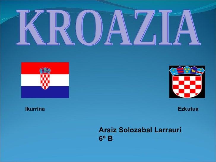 Kroazia Araiz