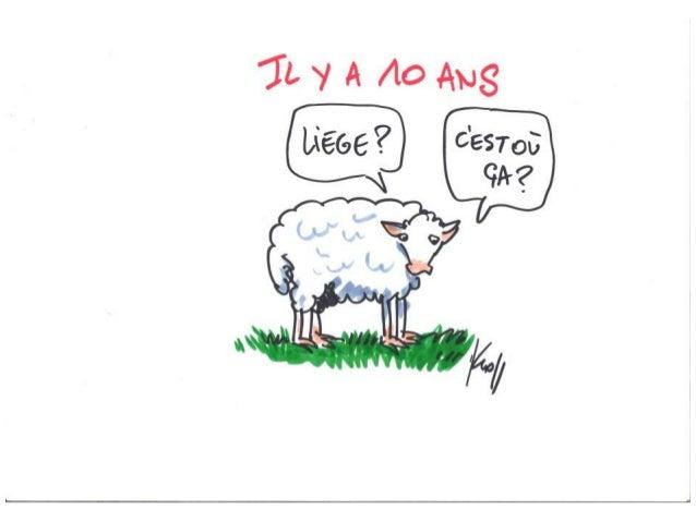 Les 10 ans de la CCI Liège-Verviers - Dessins de Kroll