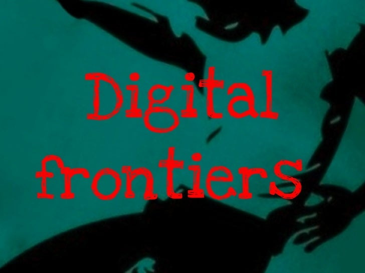 Creative Economy Digital Frontiers