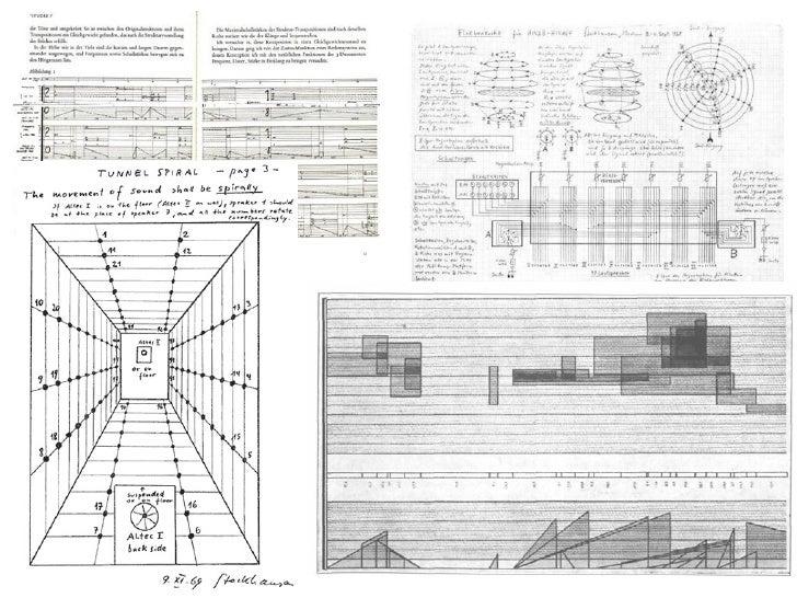 Karlheinz Stockhausen                 #estruturalista, #matemática,                 #espacialização, #aleatório,          ...