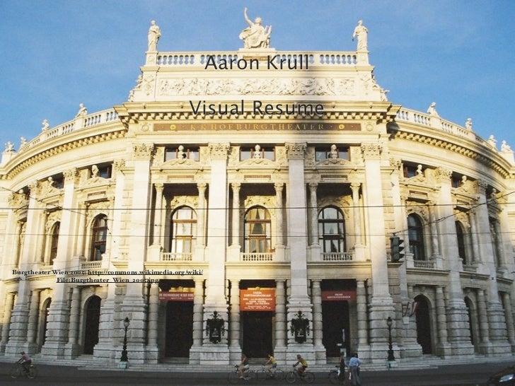 Aaron Krull                                                    Visual ResumeBurgtheater Wien 2005: http://commons.wikimedi...