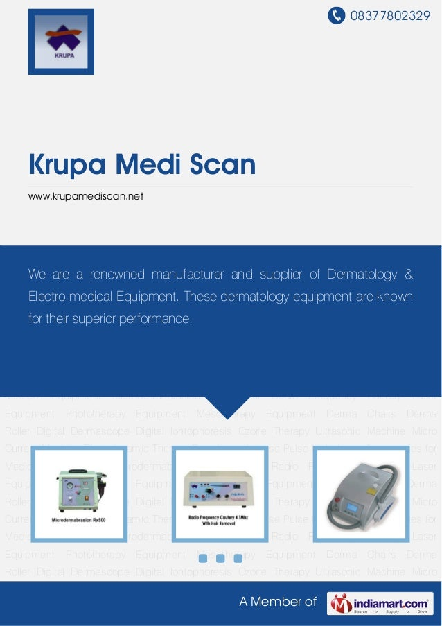 Radio Frequency Cautery by Krupa medi scan