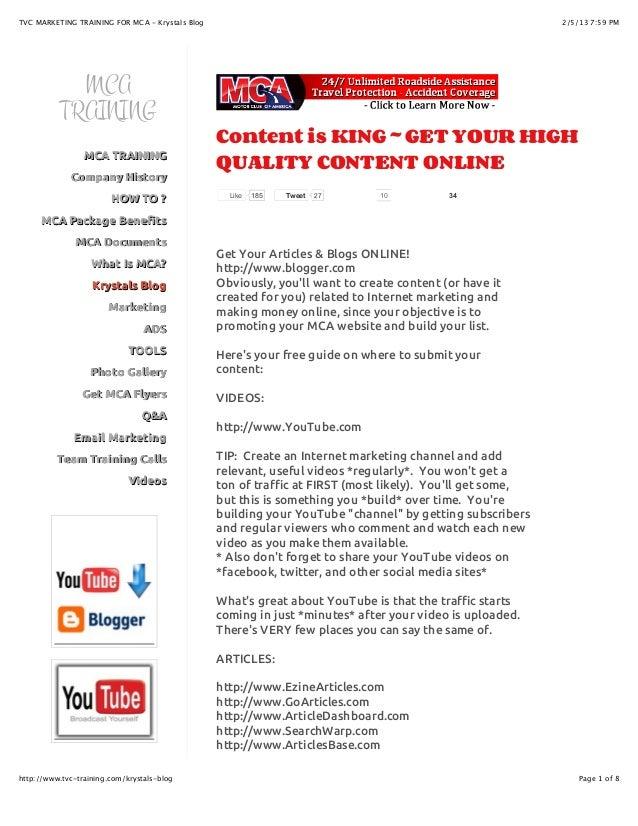 Krystals Motor Club Of America Blog