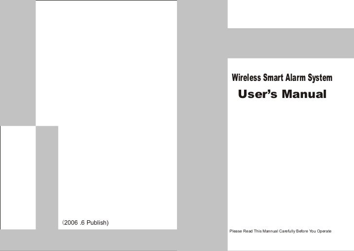 Ks 206 Simple home security systems user's manual