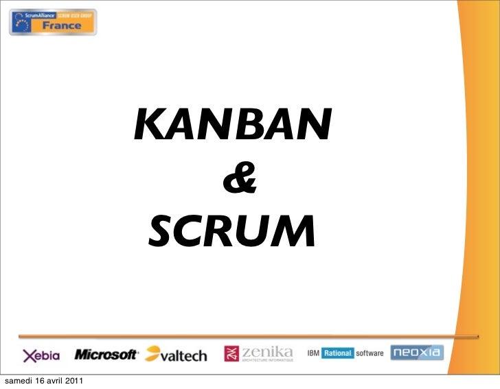 Kanban & Scrum, tirer le meilleur des 2