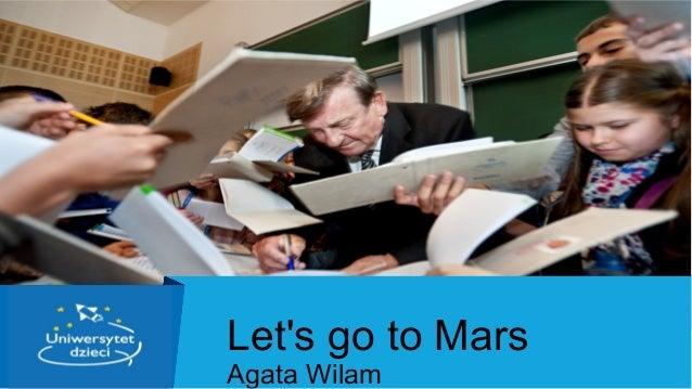 Агата Вилам для Knowledge Stream